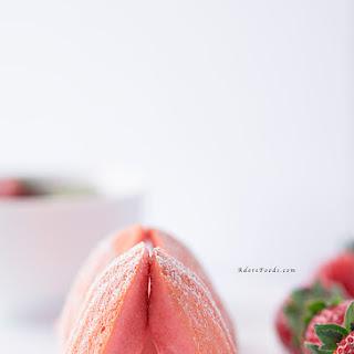 Strawberry Madeleines.