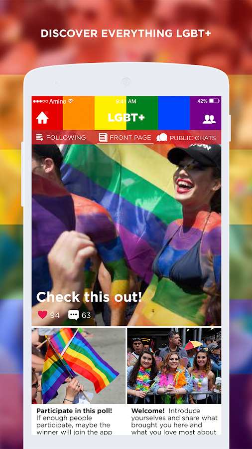 LGBT+ Amino Community and Chat- screenshot