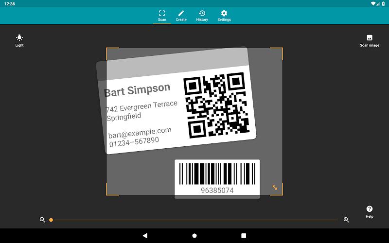 QR & Barcode Reader (Pro) Screenshot 8