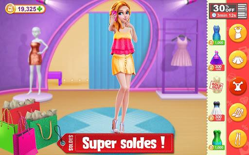 Shopping des soldes d'hiver – Jeu d'habits & mode  captures d'écran 1