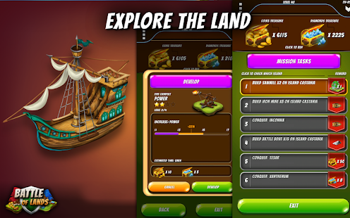 Battle of Lands -Pirate Empire- screenshot thumbnail