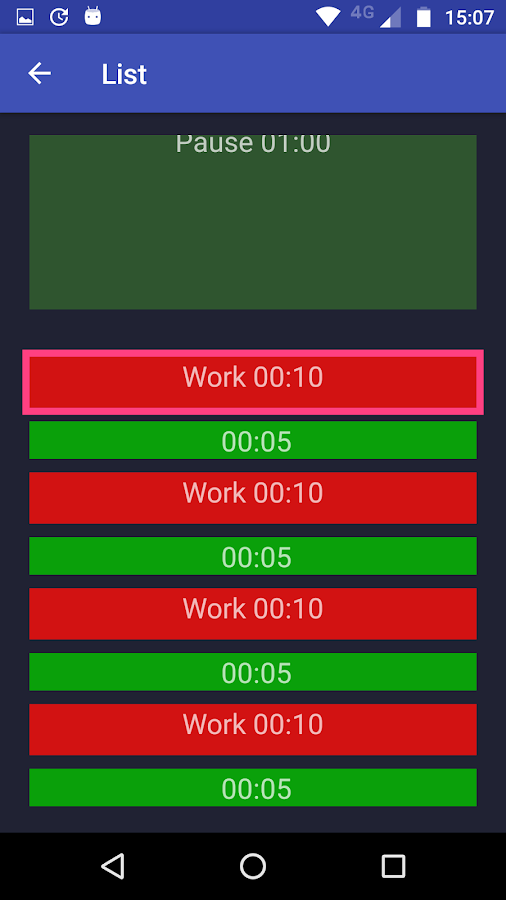 Complex Timer- screenshot