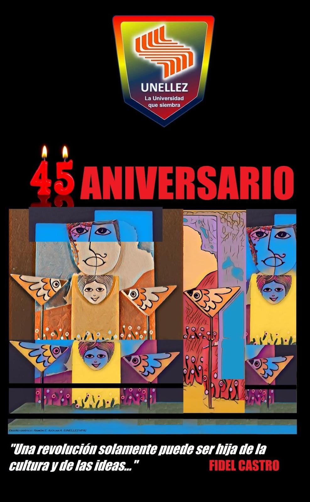 C:UsersRAMONDocuments@ESTUDIOS AVANZADOS información solicitada 2020AFICHE 2020 45 AniversarioDiseño de Afiche 45 ANIVERSARIO 2020 Ramón E. Azócar A..jpg