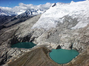 Photo: These two lakes were a complete surprise. I had no idea before getting to the top that they´d be there.