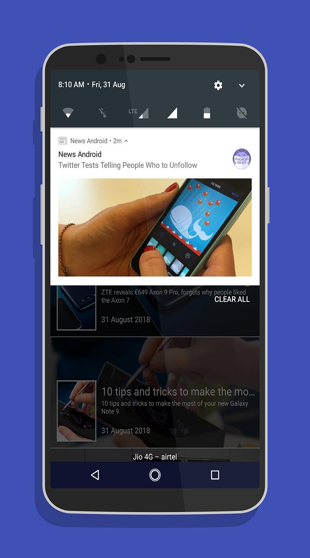 News android - news for android - news on android Screenshot 17