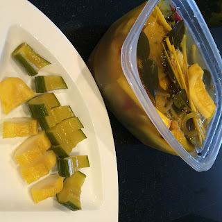 Thai Inspired Refrigerator Pickle