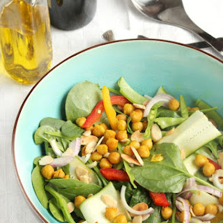 Turmeric & Honey Roasted Chickpea Salad