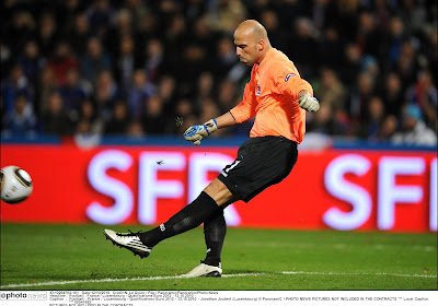 Jonathan Joubert, un leader incontesté au nombre de matchs européens disputés sous les couleurs d'un club luxembourgeois