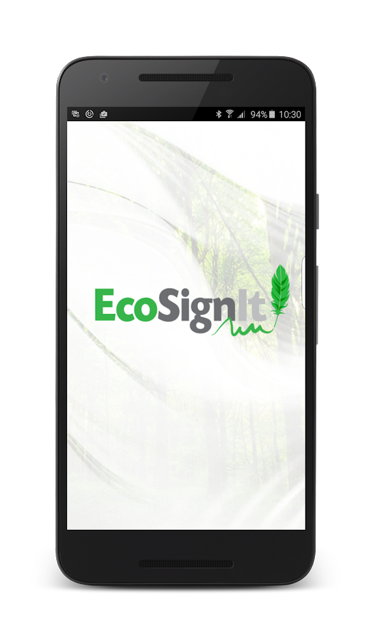 EcoSignIt- screenshot