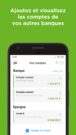Fortuneo, mes comptes banque & bourse en ligne 8.3.3 Screenshots 7