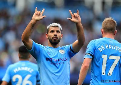 """Aguero: """"Ik blijf bij Manchester City tot we de Champions League winnen"""""""