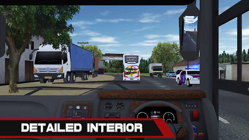 Mobile Bus Simulator 1.0.2 gameplay | by HackJr.Pw 4