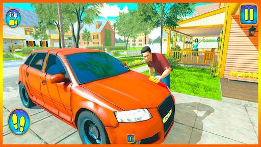 Happy Virtual Family Simulator - Family Dad Life screenshots 1