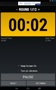 Boxing Interval Timer FREE screenshot 9