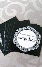 Photo: 山梨 ポーセラーツ・フラワーサロン 「Angelica」様 テンプレートシール&スクエアカード