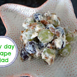 Take-out Tuesday, Lazy Day Grape Salad.