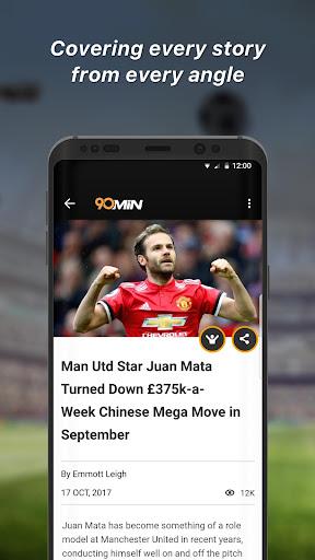 90min - Live Soccer News App  3