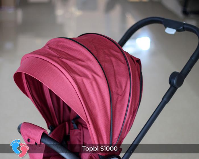 Xe đẩy cao cấp 2 chiều Topbi S1000 21