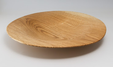 "Photo: Mike Collela 10"" x 3"" bowl [oak]"