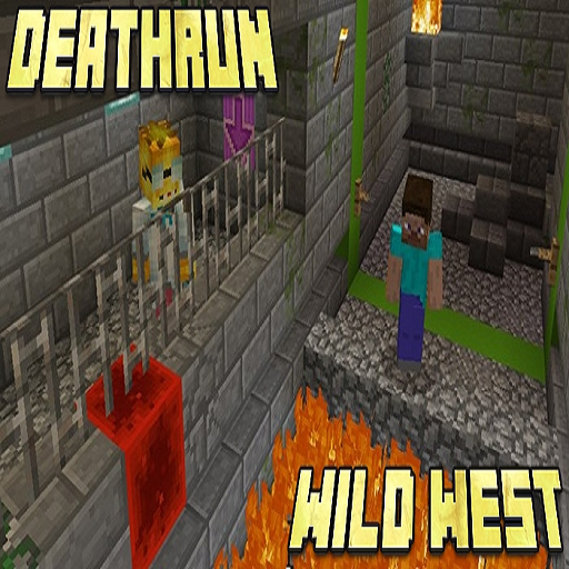 Map DeathRun Wild West for MCPE