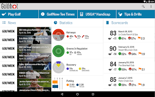 Golfshot: Golf GPS + Tee Times screenshot for Android