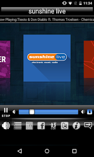 Radio sunshine live – Miniaturansicht des Screenshots
