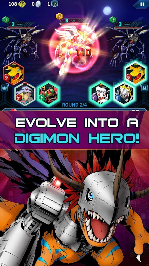 Digimon Heroes!- screenshot