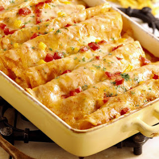 Chicken Enchilada Casserole.
