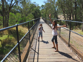 Photo: The old rail bridge in Nannup
