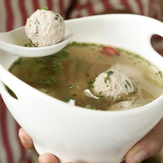 Asian Chicken and Dumpling Broth