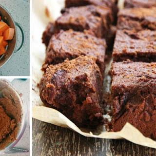 Delicious Sweet Potato Brownies.
