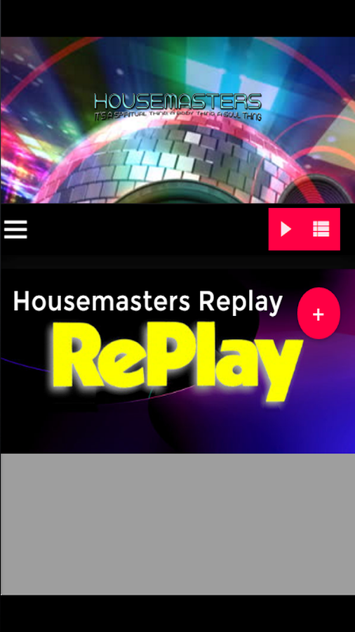 Housemasters Radio- screenshot
