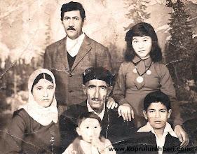 Photo: Memet TOPÇU ve Ailesi. İstanbul'a geldikleri ilk yıllar