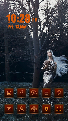 android A Beautiful Forest Elf Screenshot 0