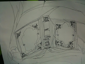 Photo: Drawing 1 Blind Contour