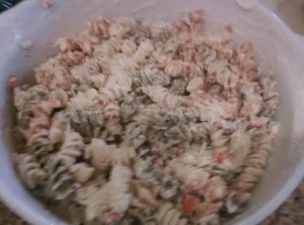 Tri-colored Pasta Salad Recipe