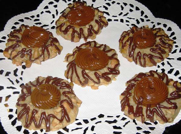 Caramel Cashew Thumbprints Recipe