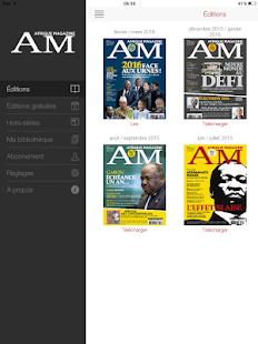 AM, Afrique Magazine - náhled