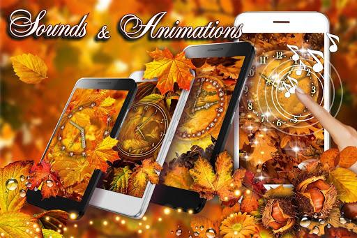 Autumn Clock HD Live Wallpaper hack tool