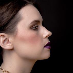 by Michael Fallon - People Portraits of Women (  )
