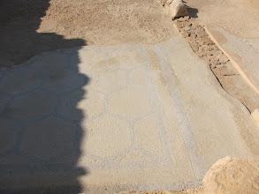 Photo: Original mosaic floor