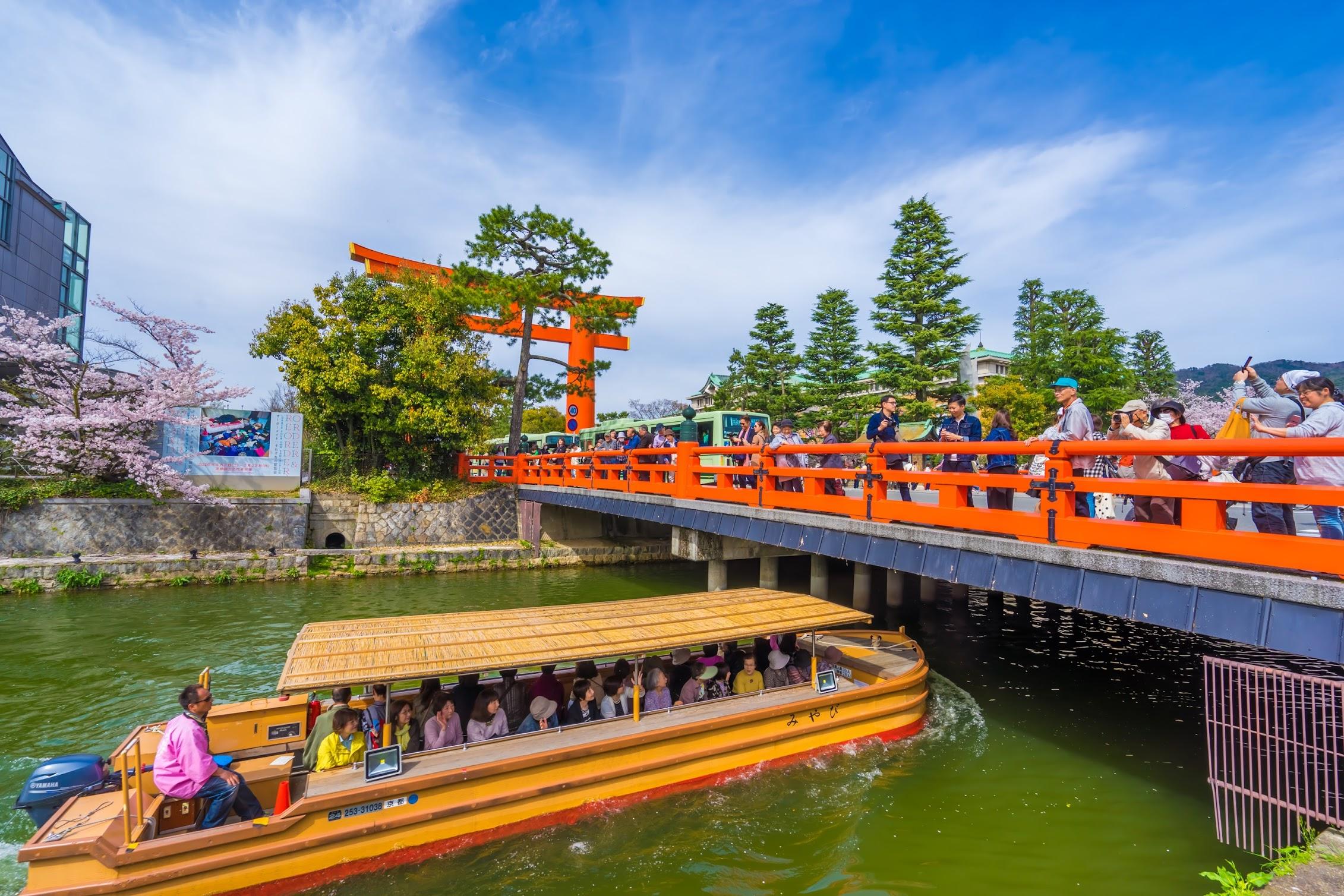 京都 岡崎疎水 十石舟3