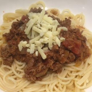 Beginner's Spaghetti Bolognese
