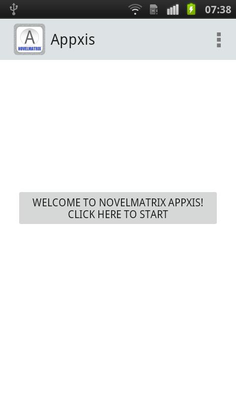 Appxis- screenshot