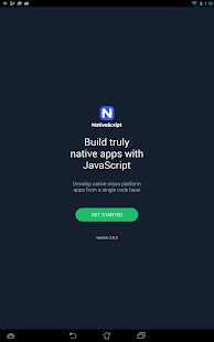 Examples NativeScript- screenshot thumbnail