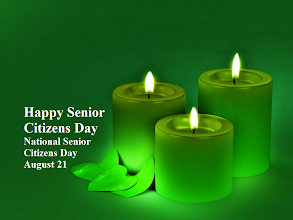 Photo: Happy Senior Citizens Day National Senior Citizens Day August 21  Image: Emerald Glow Candles  National Senior Citizens Day ~ August 21  Proclamation 5847 -- National Senior Citizens Day, 1988  August 19, 1988  By the President of the United States of America...Ronald Reagan  http://www.reagan.utexas.edu/archives/speeches/1988/081988b.htm