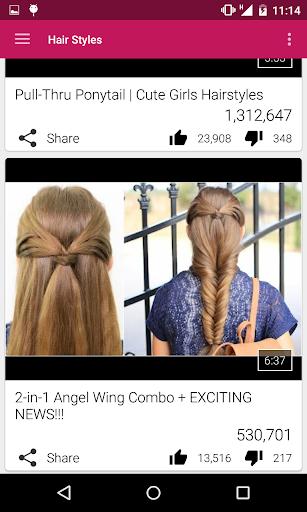 玩免費遊戲APP|下載Easy Hair Styles app不用錢|硬是要APP