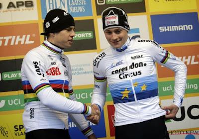 Mathieu van der Poel geeft toe wie zijn lastigste tegenstander is en het is niet Wout van Aert