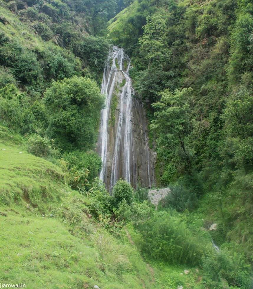 Climbing to top of Indrani waterfall