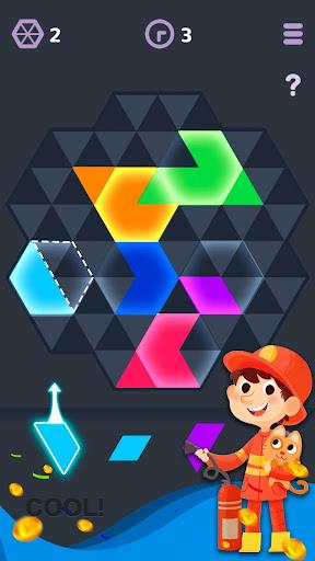 玩免費休閒APP|下載Hexagon Color app不用錢|硬是要APP
